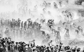 Šrumec na horských kolech v Andoře, to je sportovní fotografie roku